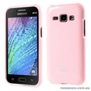 Korean Mercury TPU Soft Back Case for Samsung Galaxy J1 Pink