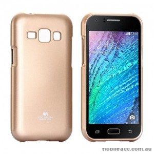 Korean Mercury TPU Soft Back Case for Samsung Galaxy J1 Gold