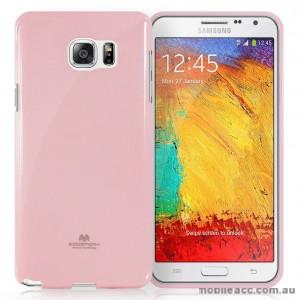 Korean Mercury Color Pearl Jelly Case for Samsung Galaxy J1 Ace Pink