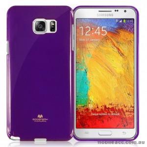 Korean Mercury Color Pearl Jelly Case for Samsung Galaxy J1 Ace Purple