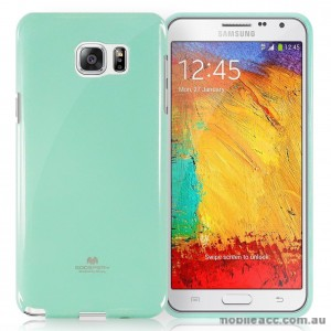 Korean Mercury Color Pearl Jelly Case for Samsung Galaxy J1 Ace Mint