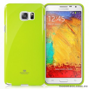Korean Mercury Color Pearl Jelly Case for Samsung Galaxy J1 Ace Lime