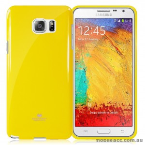 Korean Mercury Color Pearl Jelly Case for Samsung Galaxy J1 Ace Yellow
