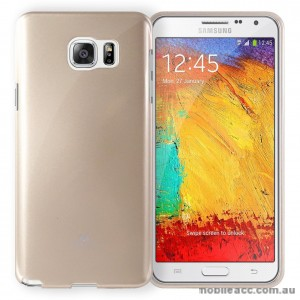 Korean Mercury Color Pearl Jelly Case for Samsung Galaxy J1 Ace Gold