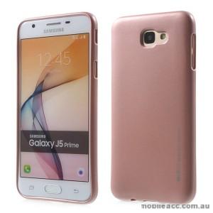 Mercury Goospery iJelly Gel Case For Samsung Galaxy J5 Prime - Rose Pink