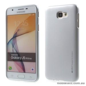Mercury Goospery iJelly Gel Case For Samsung Galaxy J5 Prime - Silver