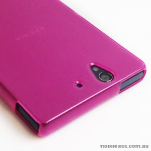 TPU Gel Case for Sony Xperia Z L36h - Pink