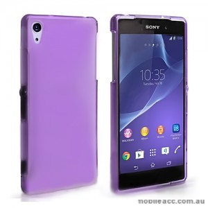 TPU Gel Case Cover for Sony Xperia Z2 - Purple