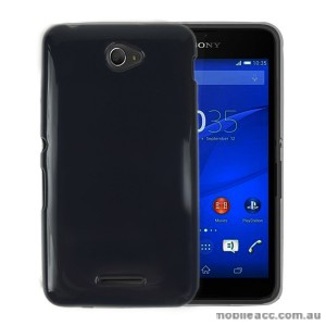 TPU Gel Case Cover for Sony Xperia E4 - Black
