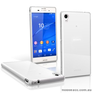 TPU Gel Case Cover for Sony Xperia M4 - Clear