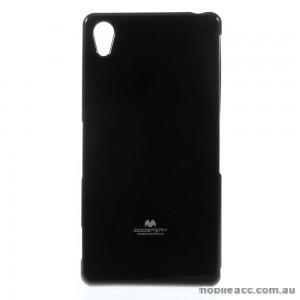 Korean Mercury TPU Case Cover for Sony Xperia Z5 Black
