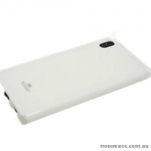 Korean Mercury TPU Case Cover for Sony Xperia Z5 White