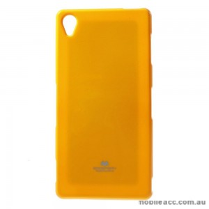 Korean Mercury TPU Case Cover for Sony Xperia Z5 Yellow
