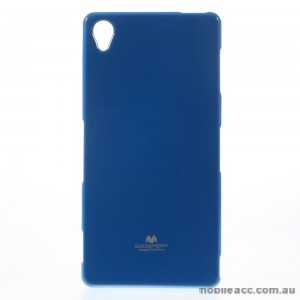 Korean Mercury TPU Case Cover for Sony Xperia Z5 Blue