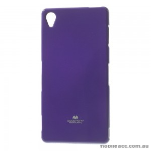 Korean Mercury TPU Case Cover for Sony Xperia Z5 Purple