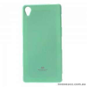 Korean Mercury TPU Case Cover for Sony Xperia Z5 Light Green