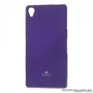 Korean Mercury Color Pearl Jelly Case for Sony Xperia Z5 Premium Purple