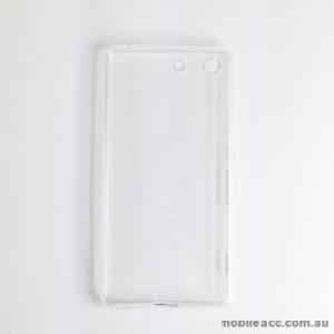 TPU Soft Gel Back Case for Sony Xperia M5 Clear
