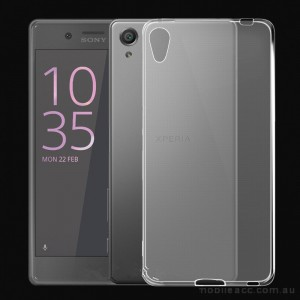 TPU Gel Case Cover For Sony Xperia X - Clear