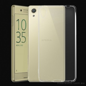 TPU Gel Case Cover For Sony Xperia XA - Clear