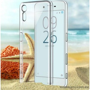 TPU Gel Case Cover For Sony Xperia XZ - Clear
