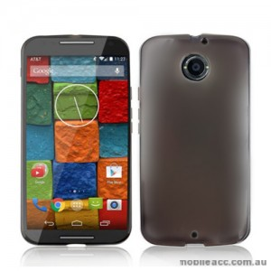 TPU Gel Case for Motorola Moto X 2nd Gen - Dark Grey