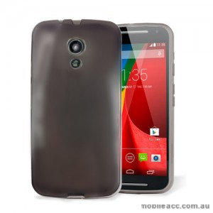 TPU Gel Case for Motorola Moto G 2nd Gen - Dark Grey