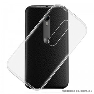TPU Gel Back Case for Motorola Moto G3 Clear