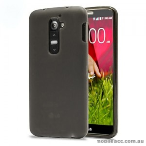 TPU Gel Case Cover for LG G2 D802 - Black