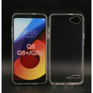 Soft TPU Gel Jelly Case For LG Q6 - Clear