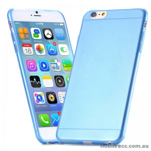 TPU Gel Case Cover for iPhone 6/6S - Transparent Blue