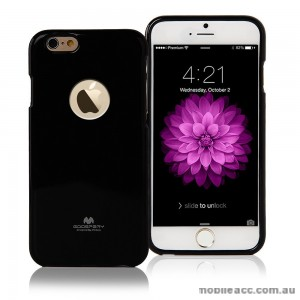 iPhone 6/6S Korean Mercury Pearl TPU Gel Case Cover - Black