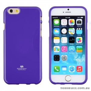 Mercury Pearl TPU Gel Case Cover for iPhone 6/6S - Purple