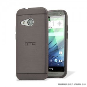 TPU Gel Case Cover for HTC One Mini 2 (M8) - Black