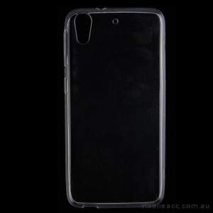 TPU Soft Gel Case for HTC Desire 530 Clear