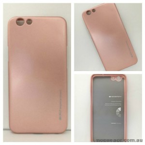 Mercury Goospery iJelly Gel Case For Oppo F1S - Rose Gold
