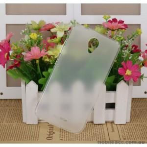 Soft TPU Back Case For Telstra 4GX Plus/ZTE Blade A462 - Matte Clear