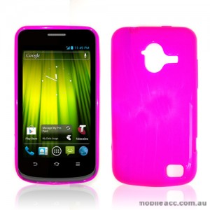TPU Gel Case for Telstra Frontier 4G - Hot Pink
