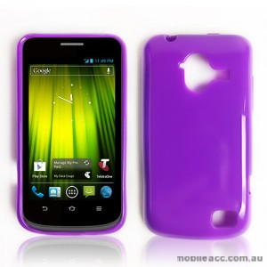 TPU Gel Case for Telstra Frontier 4G - Purple