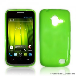 TPU Gel Case for Telstra Frontier 4G - Green