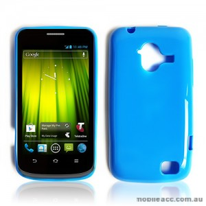 TPU Gel Case for Telstra Frontier 4G - Blue