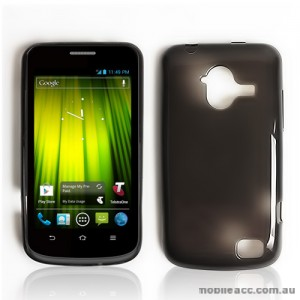 TPU Gel Case for Telstra Frontier 4G - Dark Grey