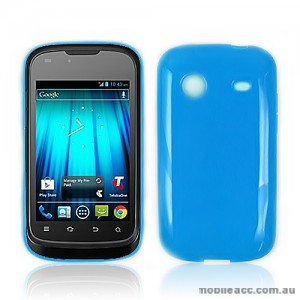 TPU Gel Case for Telstra Pulse ZTE T790 - Blue