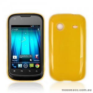 TPU Gel Case for Telstra Pulse ZTE T790 - Orange
