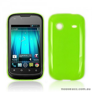 Soft TPU Gel Case for Telstra Pulse ZTE T790 - Green