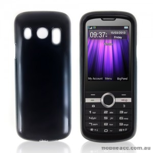 TPU Gel Case Cover for Telstra T96 × 2- Black