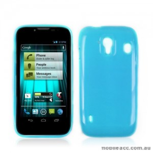 TPU Gel Case for Telstra EasyTouch 4G T82 - Blue