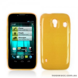 TPU Gel Case for Telstra EasyTouch 4G T82 - Orange