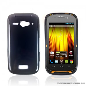 TPU Gel Case Cover for Telstra Dave T83× 2 - Black