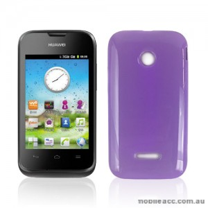 TPU Gel Case Cover for Huawei Ascend Y210 - Purple